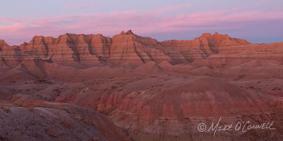 Badlands Sunset
